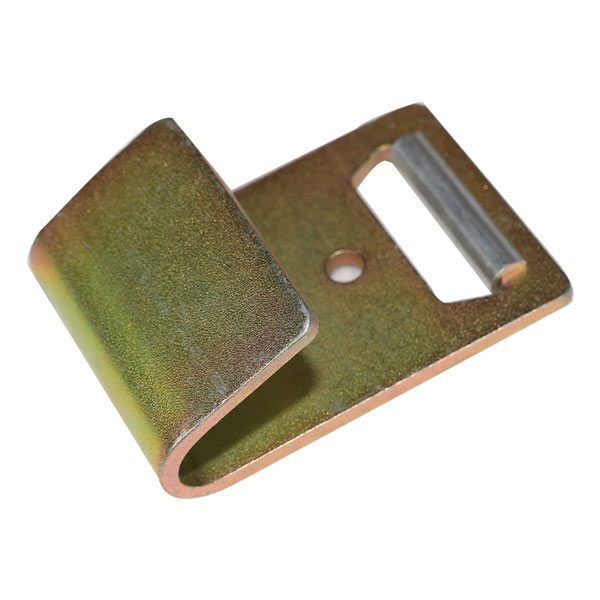 oben produzieren Ratsche festbinden Metall flach J Haken