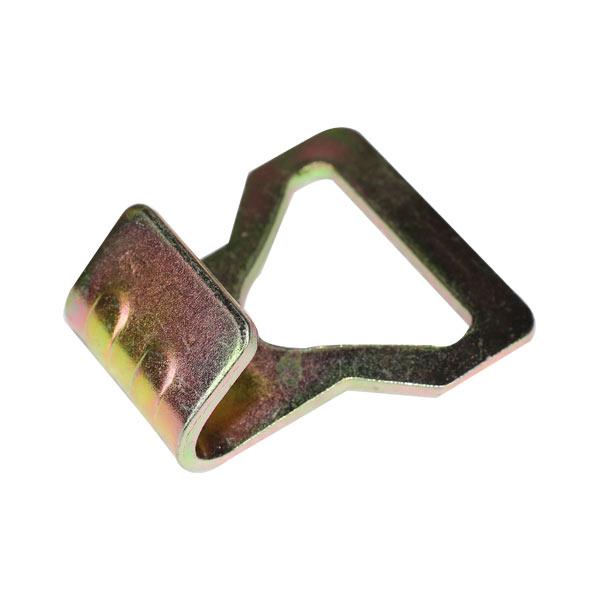 Ladungszurrung aus verzinktem Stahl J Flachhaken vom Typ J für Zurrgurt
